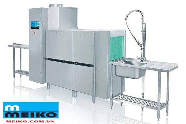 Máy rửa chén băng chuyền Meiko K-200M